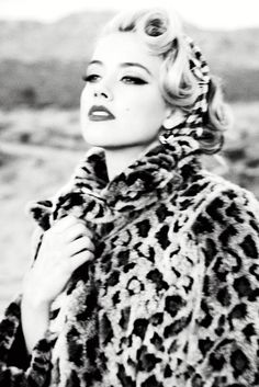 Guess Fall 2011 Campaign | Amber Heard by Ellen von Unwerth