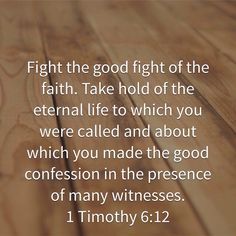 1 Timothy 6:12 1 Timothy 6 12, Christian Post, Fight The Good Fight, Confessions, Faith, Words, Life, Horse, Religion