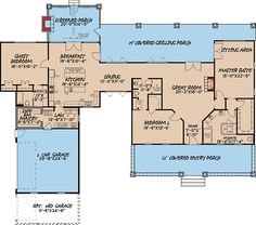 3 Bed Country Home Plan with 2 Porches - 70516MK   Architectural Designs - House Plans