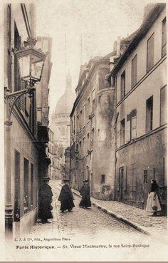 Monmartre before WW1