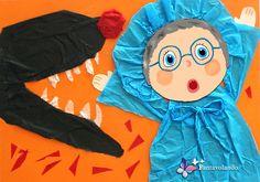 Con la carta velina si possono realizzare dei bellissimi lavori con i bambini perché è facile da maneggiare, strappare e piegare. L'effetto finale èdavvero sorprendente, si possono preparare ad esempio dei cartelloniper rappresentare una storia. Materiale: cartoncino azzurro cm 25×35, carta velina di vari colori, pennarelli, forbici, colla. Prepariamo dei cerchi di cartoncino rosa che si potranno utilizzare per realizzareil viso di ogni personaggio. Disegniamo i particolari del viso con…