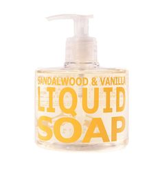 Sandalwood & Vanilla Liquid Soap