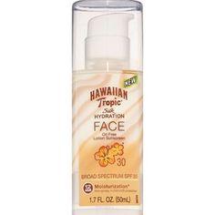 Hawaiian Tropic Silk Hydration Face Sunscreen Lotion SPF 30, 1.7 OZ - CVS.com