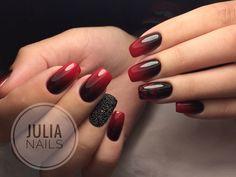 Маникюр - дизайн ногтей Simple Nail Art Designs, Beautiful Nail Designs, Easy Nail Art, Cool Nail Art, Gorgeous Tattoos, Halloween Nails, Halloween Makeup, Nagel Gel, Winter Nails