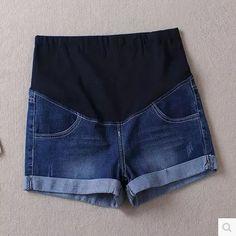 Дешевое Беременные женщины джинсовые шорты тонкий срез 2015 новое лето шорты свободного покроя брюки большой ярдов беременных щипцы для завивки бесплатная доставка, Купить Качество Шорты непосредственно из китайских фирмах-поставщиках:      Добро пожаловать в мой магазин!        Мы предоставляем лучший сервис, лучшие цены.  Лучшее качество!
