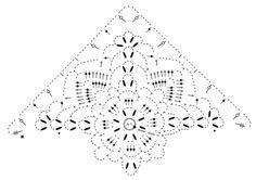 Chal a ganchillo con patrón de calados, trabajado de arriba abajo en DROPS Cotton Merino. Patrón gratuito de DROPS Design.