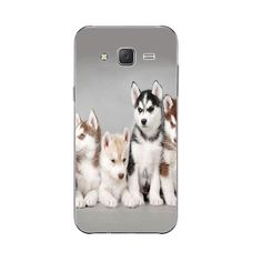 Phone Case For Samsung Galaxy J3 J5 J7 (2016) Back Cover Grand Prime G530 Shell Soft TPU Cellphone Wacky Husky Design Painted