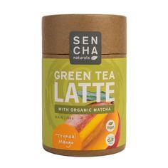 Beneficial Sips | VIVAIODAYS Sencha Naturals GREEN TEA LATTE - TROPICAL MANGO $12.95