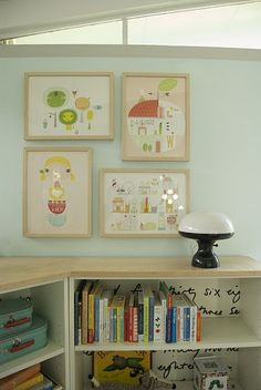 Love the Lilla Rogers pictures on the wall.