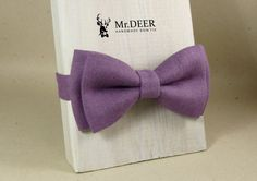 Hey, I found this really awesome Etsy listing at https://www.etsy.com/listing/281816938/purple-violet-linen-bow-tie-ready-tied