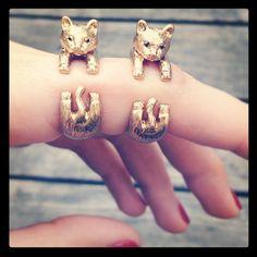 Kitty bracelets