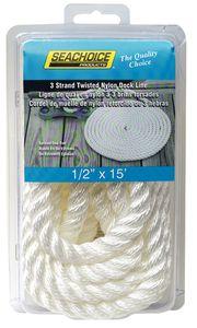 3-Strand Twisted Nylon #Dock Line-50-42561