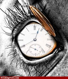 """art project! """"time is always passing"""""""