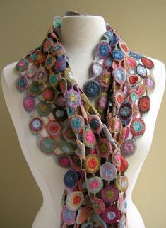 Sophie Digard Scarves (crocheted)...