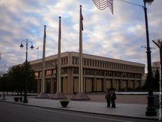 Lithuanian parliament // Vilnius, 2013 #travel #Lithuania #Vilnius #parliament #politics