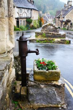 """and-the-distance: """"Castle Combe, The Cotswolds """""""