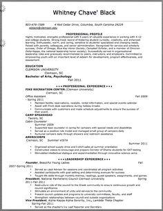Sample Resume Marketing Management Trainee - http://resumesdesign ...