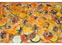 Great Pampered Chef pizza recipe!