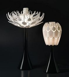 Beauty Blooms Blossoms Table Lamps Design by Patrick Jouin