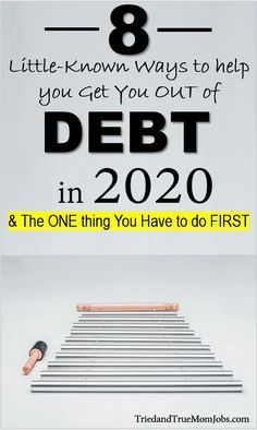Many of us have become comfortable living in debt, but this should not be the norm. You can live a life of being financially free. Obviously you have to get out of debt first and here are 8 little known ways to help you do just that. Money Saving Mom, Best Money Saving Tips, Frugal Living Tips, Frugal Tips, Budgeting Finances, Budgeting Tips, Earn Money From Home, Way To Make Money, Legitimate Work From Home