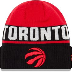 Toronto Raptors New Era Chilled Cuffed Knit Hat – Red 5d0c94fd8c6