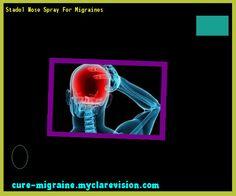 Stadol Nose Spray For Migraines 190109 - Cure Migraine
