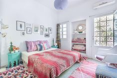 Vibrant Happiness in a Rug Dealer's Marrakech Home