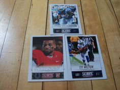 T-Y-HILTON-DONTE-MONCRIEF-RC-TRENT-RICHARDSON-2014-Score-Indianapolis-Colts-Lot #IndianapolisColts