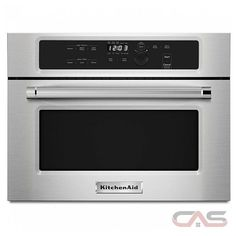 KitchenAid KMBS104ESS Microwaves | Canadian Appliance