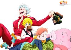 View, download, comment, and rate this 4962x3491 The Seven Deadly Sins Wallpaper - Wallpaper Abyss