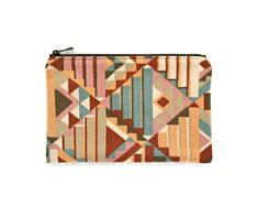 Zipper pouch / cell phone purse / zero waste vegan wallet / | Etsy