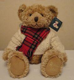 Harrods Christmas Bear 2002