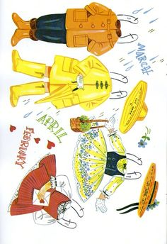 Paper Dolls~Through the Year - Bonnie Jones - Picasa Web Albums