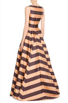 Striped Gown | Emilia Wickstead