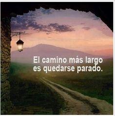 El camino más largo es quedarse parado.