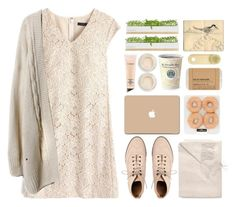 """""""beige journal"""" by khansaerika ❤ liked on Polyvore featuring ASOS, J.Crew, Sofia Cashmere, 3M, MAC Cosmetics, Topshop, Bambeco, Le Labo and Moleskine"""