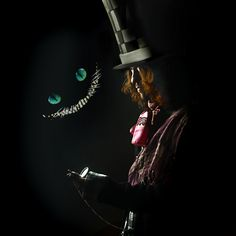 ,..... *Cheshire Cat's face belongs to the one who owns the rights to the character design from the 2010 film Alice in Wonderland.