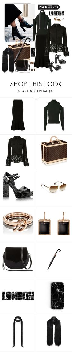 """""""Day to Night / PACK and GO"""" by jacque-reid ❤ liked on Polyvore featuring Cushnie Et Ochs, A.L.C., Exclusive for Intermix, Sirius, SPINELLI KILCOLLIN, Dezso by Sara Beltrán, Rebecca Minkoff, Tim Holtz, Miss Selfridge and Unreal Fur"""