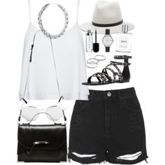 Outfit for a summer date