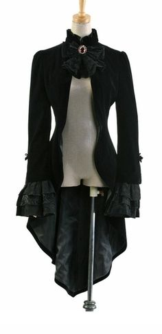 Well, hello pretty jacket....another one via the magnificent Cupcake Goth.