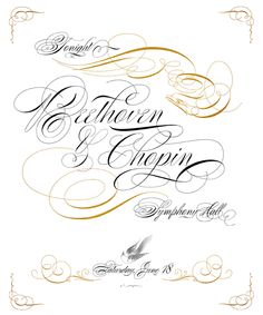 Poem Script @ Veer. OTF // $89.00 // Spencerian with LOTS of variations on each letter and hundreds of calligraphic ornaments.