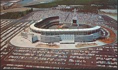 Angel's Stadium as I remember it as a boy. The Big-A out in left field :)