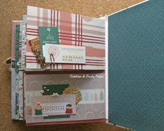 Snowflake Crate Paper Album_12 Crate Paper, Let It Snow, Mini Albums, Crates, Snowflakes, Stampin Up, Projects, Ink, Paper