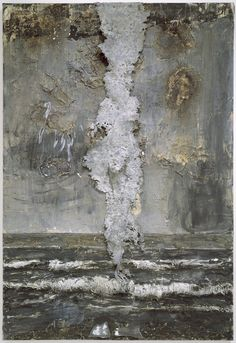 anselm kiefer - emanation oil, acrylic, wallpaper paste, lead on canvas (walker art center, minneapolis) Anselm Kiefer, Modern Art, Contemporary Art, A Level Art, Paperclay, Mixed Media Art, Art Pictures, Abstract Art, Sculptures