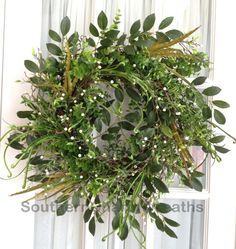 I love this wreath..perfect for spring