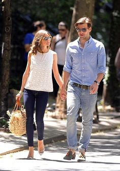 Johannes Huebl Photo - Olivia Palermo and Johannes Huebl Out in the West Village