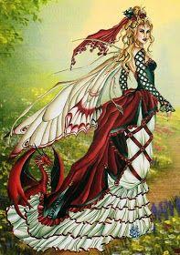 ARTE EN PUNTO DE CRUZ : MI PRIMER ESQUEMA DE PUNTO DE CRUZ Cross Stitch Fairy, Cross Stitch Angels, Free Angel, Mermaid Fairy, Fantasy, Christmas Projects, Faeries, Female Characters, Cross Stitching