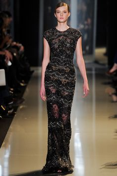 Elie Saab Spring 2013 Couture Fashion Show - Sigrid Agren (Elite)