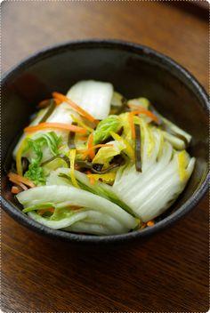 白菜の浅漬け 漬物レシピ!簡単おいしい作り方 さとみの漬物講座・みそ講座