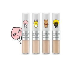 -The Face Shop-KAKAO FRIENDS EDITION Concealer Dual Veil #TheFaceShop